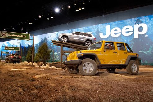 Image 3 for Camp Jeep at the Chicago Auto Show