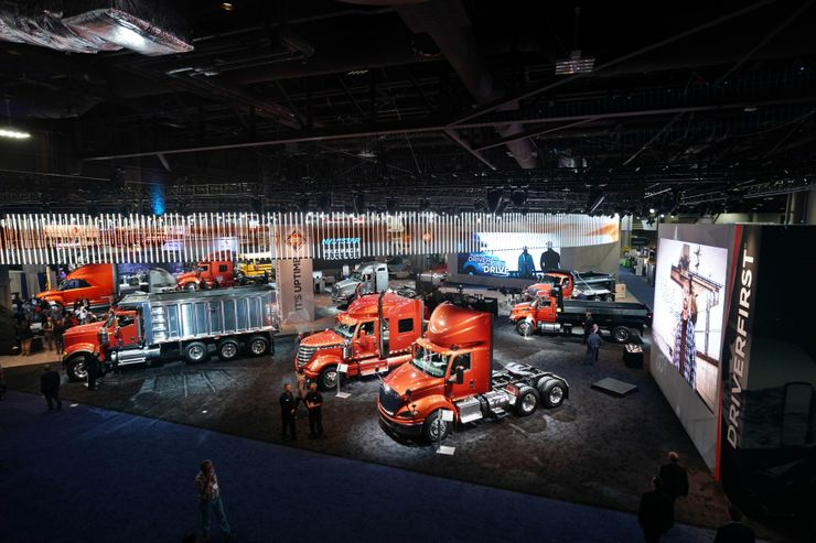 Image 2 for International Trucks Takes on the North American Commercial Vehicle Show 2017