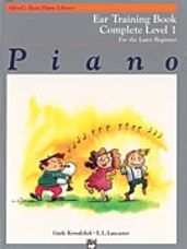 Alfred's Basic Piano Ear Training Book 1 Complete