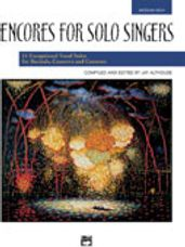Encores for Solo Singers - Med High Book