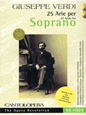 25 Arias For Soprano (Book and 2 CDs)
