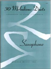 30 Melodious Duets/Saxophone (AA or TT or BB or AB)