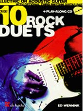 10 Rock Duets (Guitar Duet BK/CD)