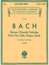 11 Chorale Preludes from the Little Organ Book