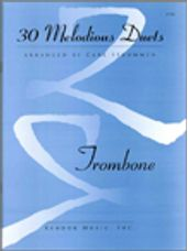 30 Melodious Duets (Trombone)