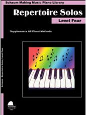 Making Music Piano Library: Repertoire Solos, Level Four [Piano]
