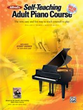 Adult Piano Course Bk/CD/DVD Alfred's Self-Teaching
