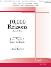 10,000 Reasons (Bless the Lord) - Vocal Solo Key of E-flat
