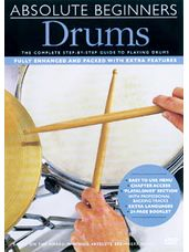 Absolute Beginners: Drums DVD