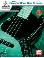 Essential Blues Bass Grooves Book/CD Set