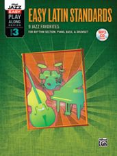 Alfred Jazz Easy Play-Along Series, Vol. 3: Easy Latin Standards [Rhythm Section]
