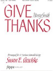 Give Thanks (2-3 oct.)
