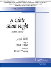 Celtic Silent Night, A (2 Medium Voices Key of B-Flat)