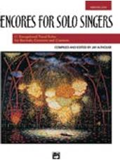 Encores for Solo Singers (Accompaniment CD)