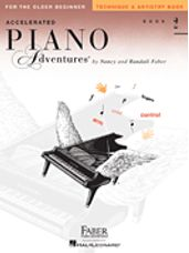 Accelerated Piano Adventures for the Older Beg Technique & Artistry Book 2