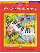 Coloring Book 1 -- Fun with Music Friends Music for Little Mozarts