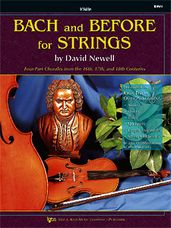 Bach And Before For Strings (Violin)