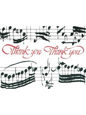 32nd NotesThank You Cards